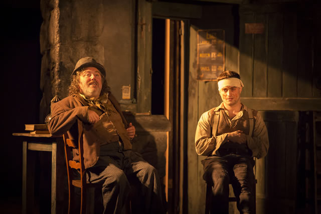 Pat Shortt (JohnnyPateenMike) and Daniel Radcliffe (Billy) by Johan Persson