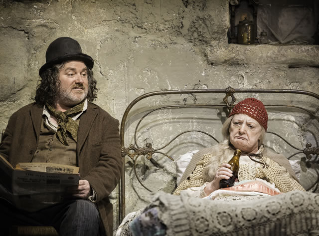 Pat Shortt (JohnnyPateenMike) and the very funny June Watson (Mammy) by Johan Persson