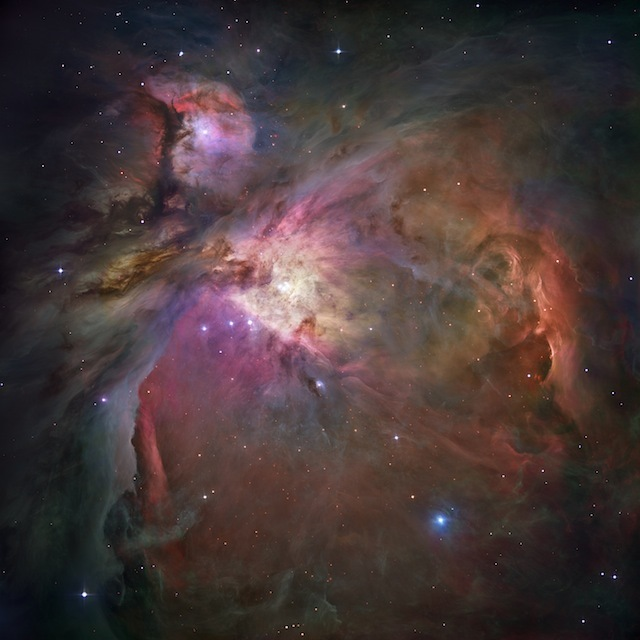 The Orion Nebula, NASA/ESA