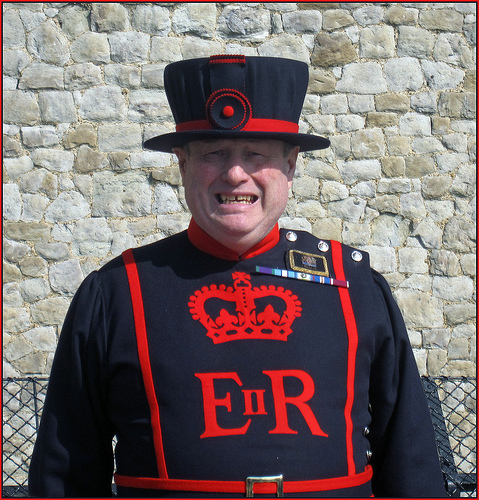 Yeoman warder at the Tower of London, by snaphappysal