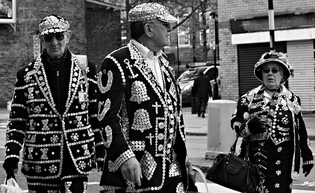 Pearly Kings and Queen, by Becky Frances