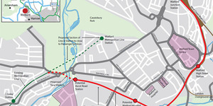 New Tube Link To Watford Junction Approved