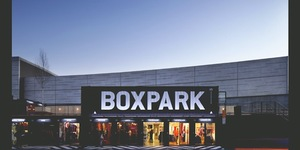 New Shipping Container Lands @Boxpark #BOMBTHEBOX