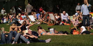 London Heatwave Bit Cool By Historic Standards