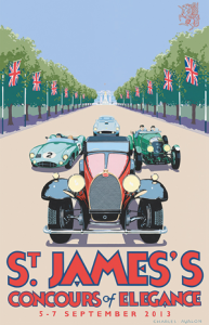 st james poster