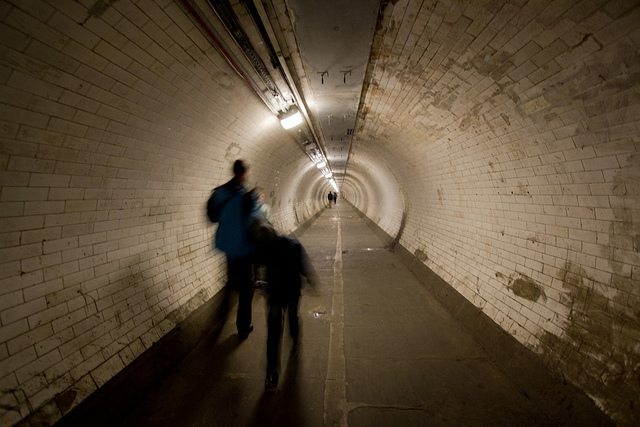 Greenwich foot tunnel by cath dupuy
