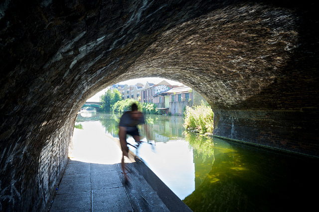 Canal tunnel by Andrew Watt