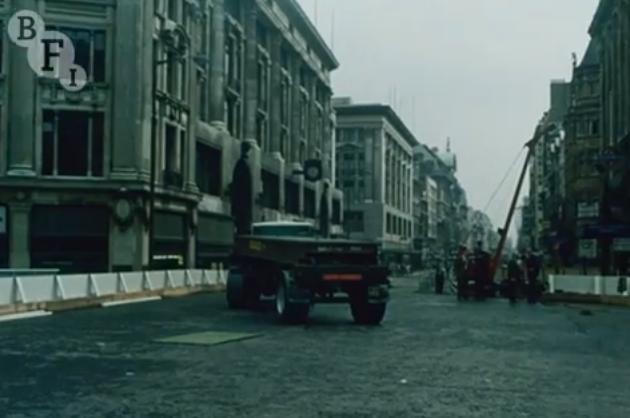 BFI Releases Victoria Line Construction Films