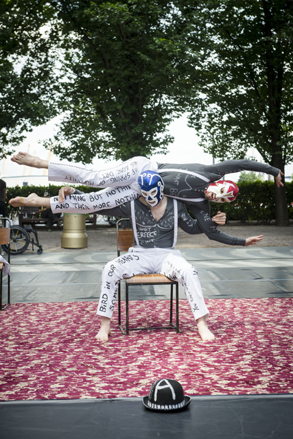 """""""Studies for C. / a sequel"""" by Candoco Dance Company at Montgomery Sq."""