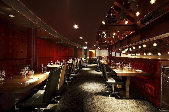 The Heliot restaurant.