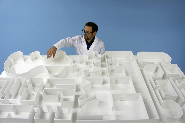 Pedro Reyes Sanatorium, Museum of Hypothetical Lifetimes, 2012 Photo: courtesy of the artist
