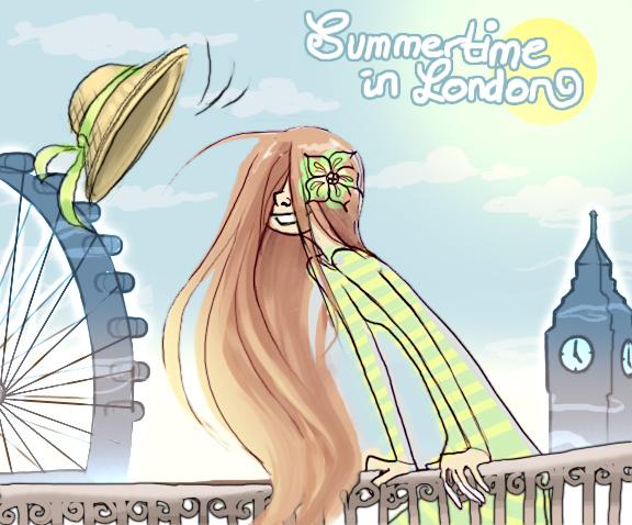 Summertime in London by Julia Romer