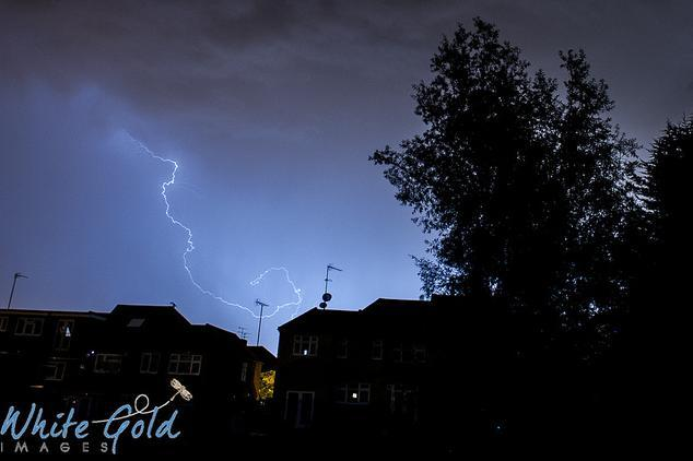 Yvonne White caught more lightning.