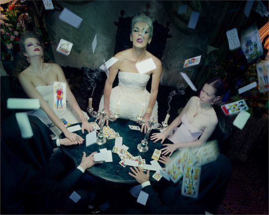 Miles Aldridge, The Dead #6. Image courtesy the artist and Brancolini Grimaldi