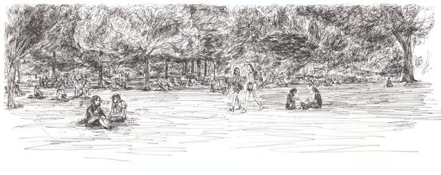 St James's Park by Nick Kobyluch