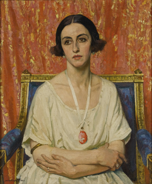 Lubov Tchernicheva by Dame Laura Knight, 1921.  Copyright: Reproduced with permission of The Estate of Dame Laura Knight DBE RA, 2013