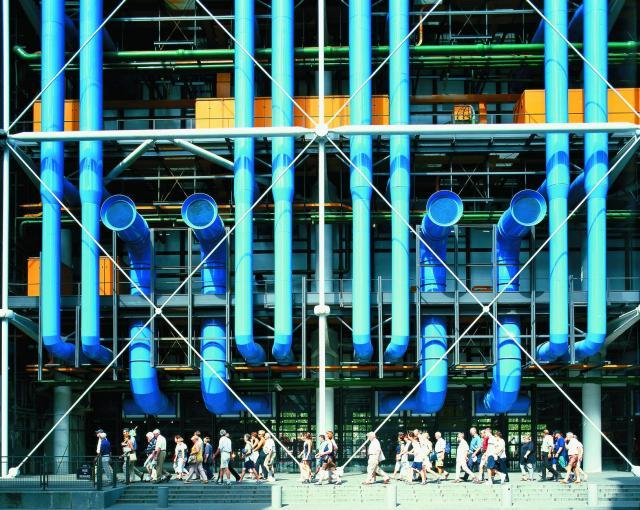 Richard Rogers Inside Out Retrospective