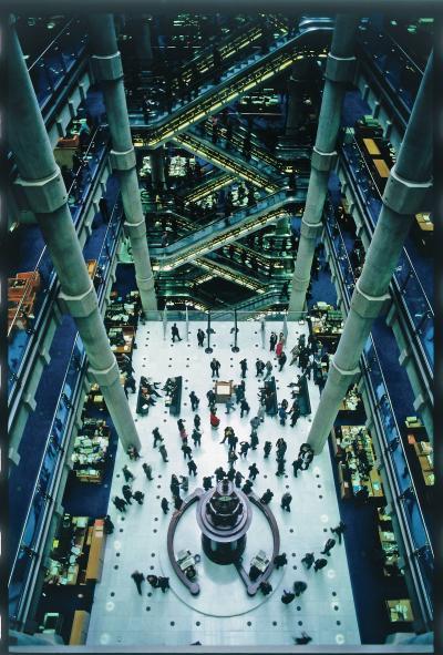 Lloyd's of London atrium