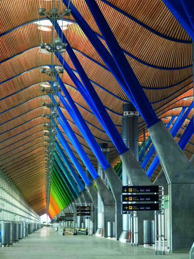 Terminal 4, Madrid Barajas Airport / photo by Manuel Renau