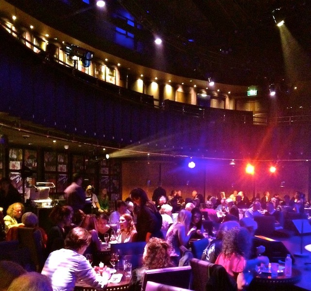 Audience in the Matcham Room Theatre