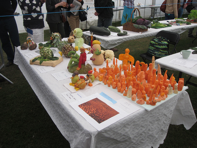 The vegetable character competition