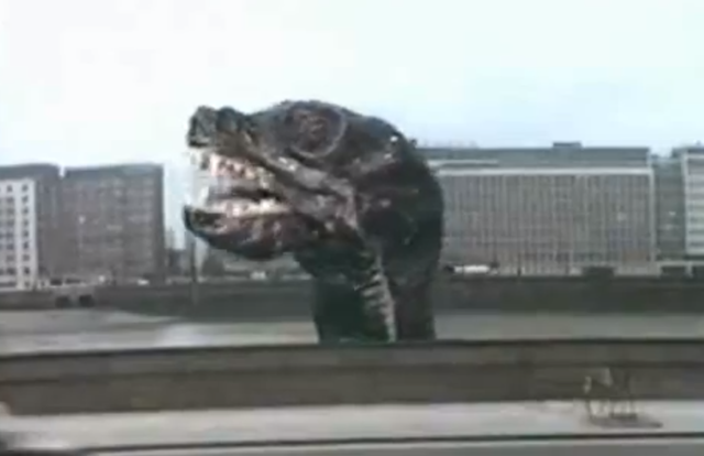 Giant Monster Attacks On London: A Natural History
