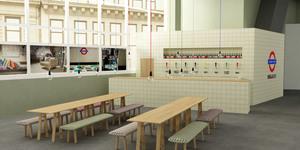 Tube Station Themed Bar Pops Up For London Design Festival