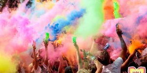 Holi One Gets Colourful At Battersea Power Station