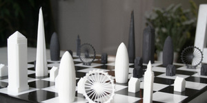 A Chess Set Inspired By London's Skyline