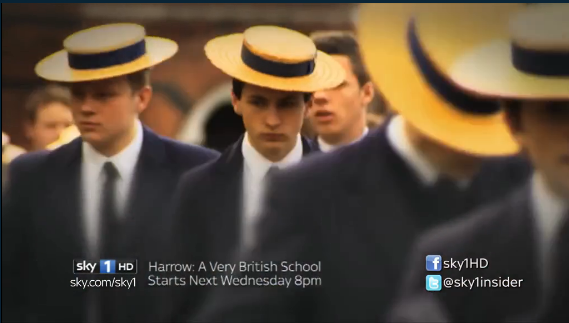 Harrow: A Very British School on Sky1