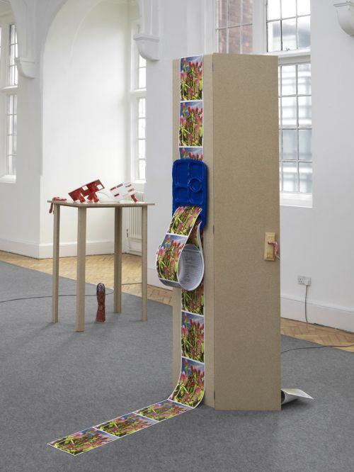 Installation view of Emma Hart: Dirty Looks at Camden Arts Centre, 2013. Photo: Andy Keate © Camden Arts Centre
