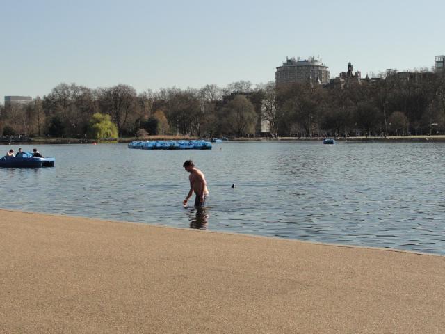 Bit early for a dip by RachelH