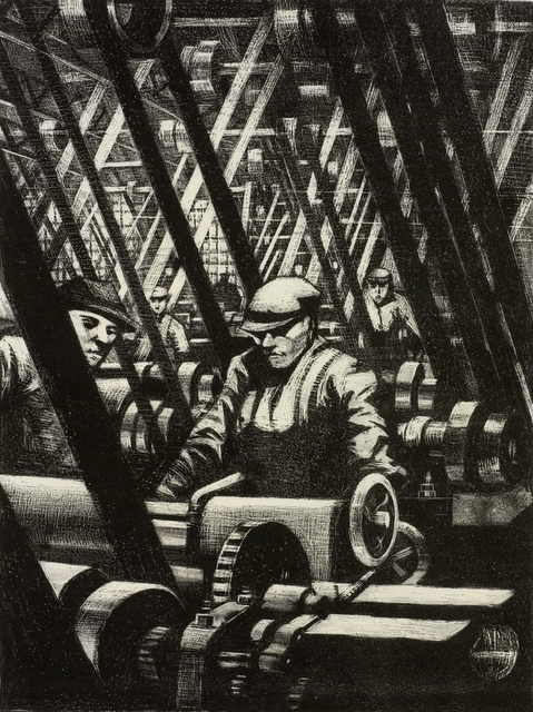 Making The Engine. © IWM (Art.IWM ART 691 a)