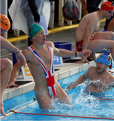 UK cold water swimming championships by CdL Creative