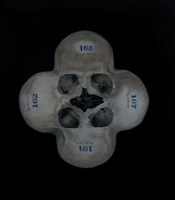 Skulluks II, Geoffrey Harrison. Image courtesy of the artist and Barts Pathology Museum