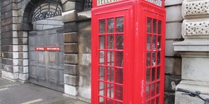 Sherlock Phone-Box Shrine Desecrated