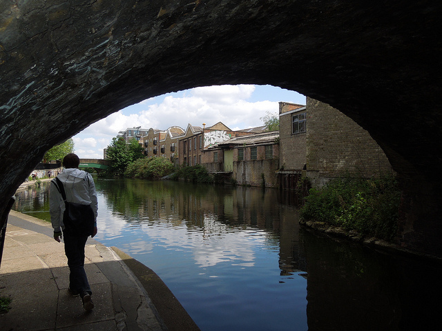 Regent's Canal Towpath by PastLondon