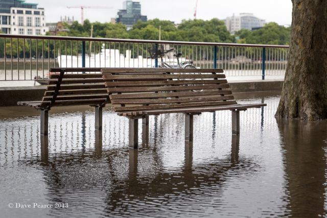 Flooded benches