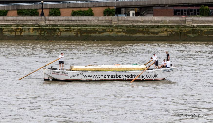 Barge racing by Lindsey Clarke