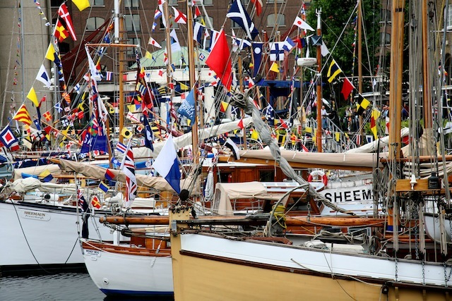 Classic Boat Festival by Bill Green