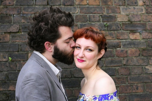 An engagement portrait session in Balham by Louise Rose Photography