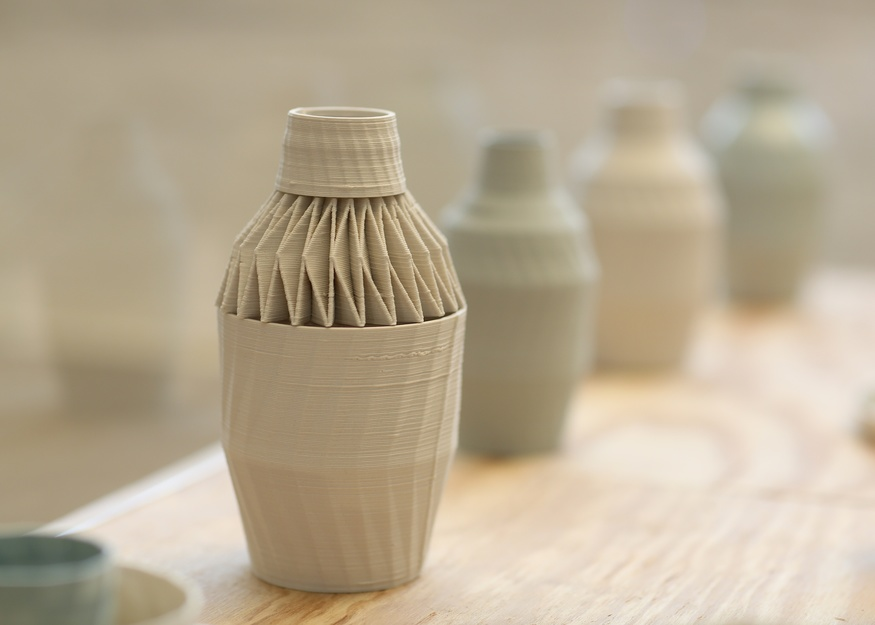 Unfold's 3-D Printed Ceramics.