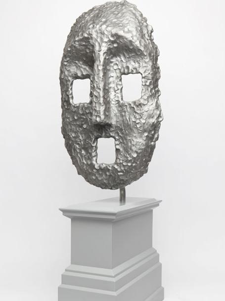 Ugo Rondinone's Moon Mask.