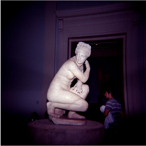 Statue in the British Museum by Anatoleya