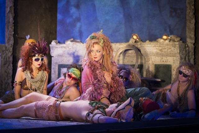 David Sheridan Smith as Titania, plus fairies. By Johan Persson