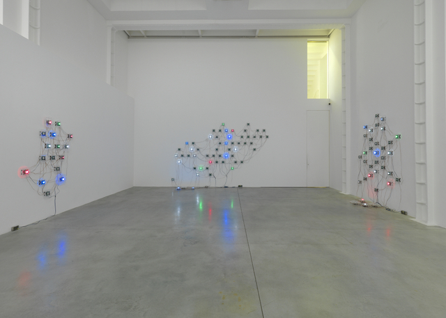 Tatsuo Miyajima, I-Model. Lisson Gallery, London. Installation view