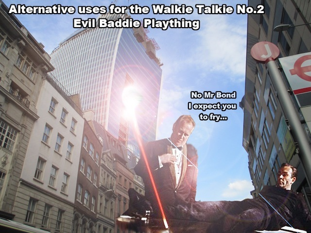 Alternative Uses For The Walkie Talkie No.2