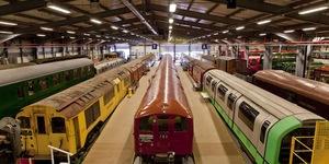 Shoot Heritage Vehicles At London Transport Museum Depot
