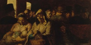 Satirical Visions Of Paris By Daumier At Royal Academy