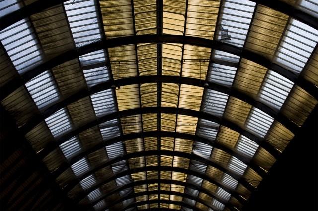King's Cross station roof